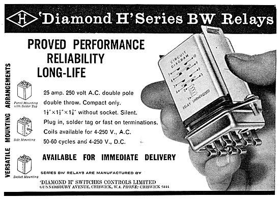 Diamond H - Aircraft Electrical Equipment.