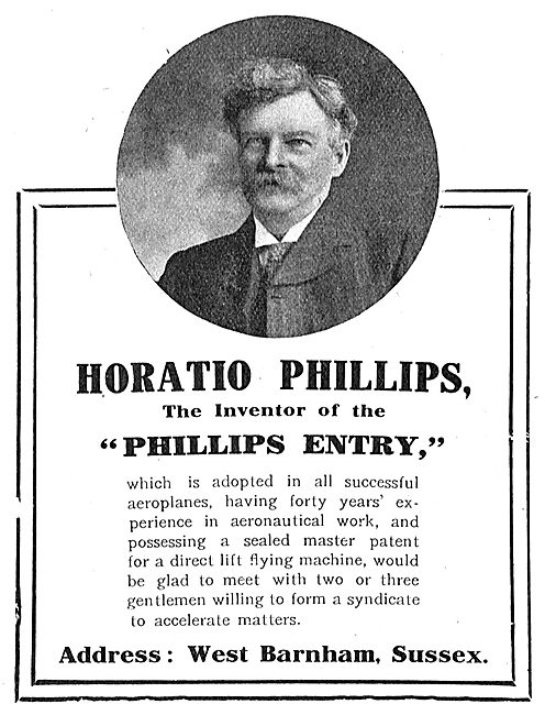 Horatio Philips Inventor Of The Philips Entry