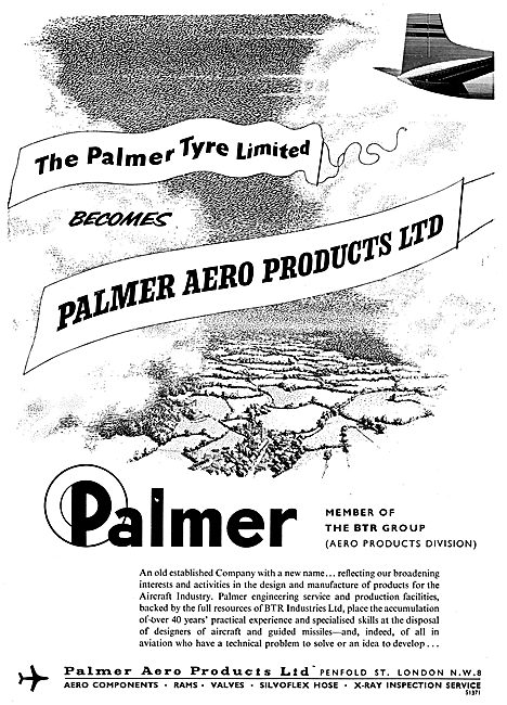 Palmer Aero Products - Tyres, Valves, Hoses & NDT